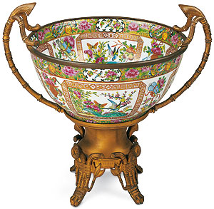 Picture: Chinese porcelain bowl, Ehrenburg Palace